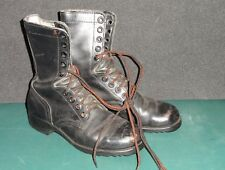 Ro Search Black Military Combat Boots 6R  6-84