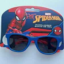Marvel Spiderman Boys Sunglasses Blue Frame UV Protection