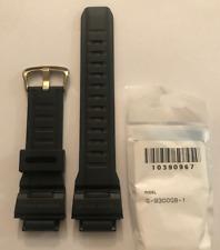 Casio  G-Shock  Original  Band  G-9300GB-1 G-9300GB G-9300 Black Strap G9300GB