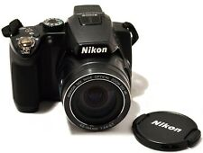 NIKON COOLPIX P500 12.1MP CMOS 36X NIKKOR OPTICAL ZOOM DIGITAL BLACK CAMERA