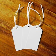 100 White Tags - Wedding - Wish Tree Tags. No Ribbon Or String Included. Party