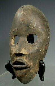RARE Dan Wood Mask ritually cleaned and/or stripped to make a healing potion #2