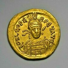 More details for leo i, gold solidus c. 462-6 ad, constantinople mint, 5th officina, ric x 605