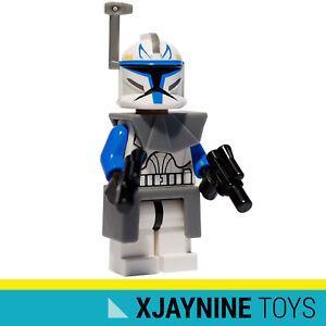 GENUINE LEGO STAR CLONE WARS 501st Legion Captain Rex Minifig Phase One Armor