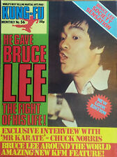 Kung Fu Monthly Poster Magazine no 56 - Excellent condition!! Bruce Lee KFM