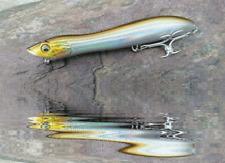 Bass Lure Crazy snake head 122mm 19g walking Topwater Popper Darter VMC Hook