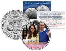 PRINCESS CHARLOTTE of Cambridge - Colorized JFK Half Dollar Coin William & Kate