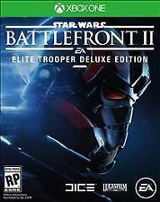 NEW XBOX ONE Star Wars Battlefront II 2 : Elite Trooper Deluxe Edition