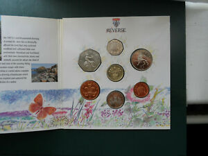 1989 UK Royal Mint 7 Coin year set collection Brilliant Uncirculated