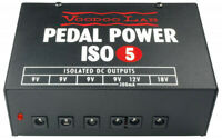 Voodoo Lab Pedal Power ISO-5 Power Supply - FREE 2 DAY SHIP