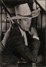 GARY COOPER pseudonimo di Frank Jhon C. (Elene N.T. 1901 - Hollywood 1961).