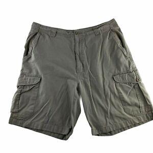 Wolverine Men's Size 33 Cargo Shorts Flat Front Brown Tan Beige Hiking Workwear