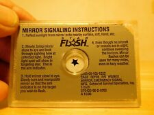 Star Flash Military Signal Survival Mirror
