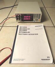 Hioki BT3563 6V/60V/300V Battery HiTester. Mint condition