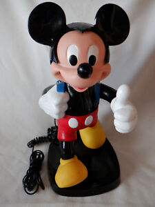 VINTAGE 1980s MICKEY MOUSE BACKPACK PHONE