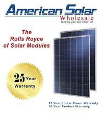 American Solar Wholesale 270 Watt  10 pieces (2700 watts)  Solar Panels