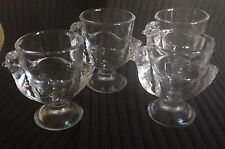Chicken Shot Glass / Egg Cup FRANCE Set of 4 Shooter Glasses