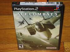 Black Label Ace Combat 5 : The Unsung War PS2 NEW Holo