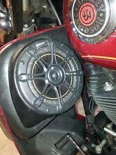 """Harley-Davidson vented lower fairing speaker pods 6.5"""" touring 6 1/2"""" 1997-2014"""