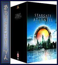 STARGATE ATLANTIS -  COMPLETE SERIES 1 2 3 4 & 5 - **BRAND NEW DVD BOXSET**