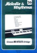 The Beatles Songbook Noten Keyboard sehr leicht