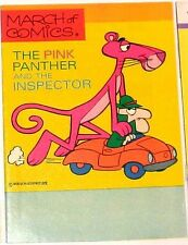 MARCH OF COMICS 390 PINK PANTHER RARE GIVEAWAY PROMO FILE COPY VFNM 1973