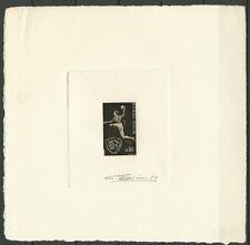 FRANCE SPORT CHAMPIONNAT HANDBALL EPREUVE ARTISTE SIGNEE SIGNED PROOF ** 1970