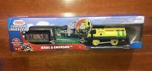 Fisher-Price Thomas and Friends Trackmaster Raul and Emerson Train New
