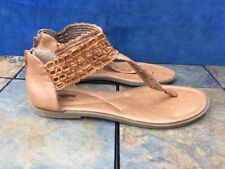ROCKET DOG Sexy Ankle Strap Sandals GLADIATOR Mules LEATHER Shoes Womens Sz 11