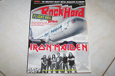 ROCK HARD MAG 4/2009 IRON MAIDEN LACUNA COIL  + POSTER