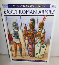 BOOK OSPREY Men-At-Arms MAA 283 Early Roman Armies op 1993 1st Ed
