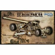 GWH L3526 allemand Krupp 12.8 cm PaK44 Anti Tank Gun 1/35 scale plastic model kit