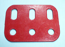 Meccano compatible red 1.5 inch Flat Girder Part 103h