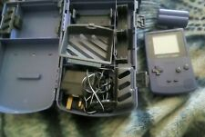 Gameboy Color Console grape & Case With Charger