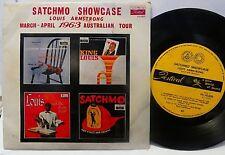 LOUIS ARMSTRONG EP Satchmo Showcase ~ 63 Tour Ed Festival AUSTRALIA P/S EP 45