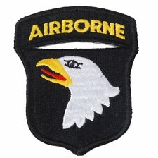 WW2 US Army 101st Airborne Division Paratrooper Eagle Shoulder Patch Badge