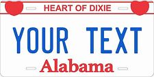 Alabama 1986 License Plates Tag Personalized Auto Car Custom VEHICLE OR MOPED