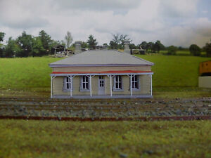 NSWGR Tenterfield Station Masters House Kit HO scale 1:87