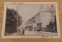 Nostalgic Sheffield postcard Broomhill area c1902 Card by Hedgerow publishing