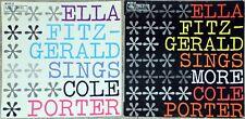 2 x 33t Ella Fitzgerald sings Cole Porter / Sings more Cole Porter (LP)
