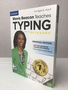 Mavis Beacon Teaches Typing Powered By Ultrakey Personal Edition PC MAC DVD-ROM