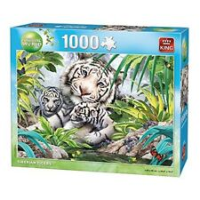 King Puzzle Animal World - 1000pc - Siberian Tiger - 1000 Piece Jigsaw New