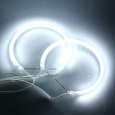 New 4x CCFL Angel Eye Halo Rings HeadLight Lamp for BMW E36 E39 E46 DC 12V White