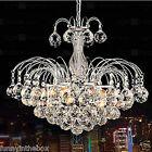 HOT! Chandelier Ceiling Pendant Light Elegant Crystal Lamp Fixture lighting CA