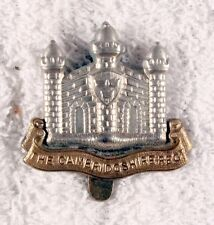 British Army Badge:  Cambridgeshire Regiment - bi-metal