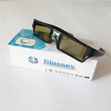 Active Shutter 3D Glasses for DLP-link Projector Movie 3D-ready USB Rechargeable
