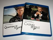 Quantum of Solace / Casino Royale Blu-rays LIKE NEW! NO DIGI CODE!*