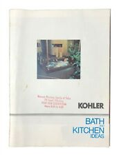 Vintage Kohler Bath & Kitchen Ideas Colorful Bathroom Fixtures Sinks Toilets Bro