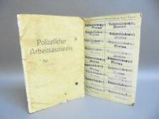 More details for wwii german id 'arbeitsausweis' for forced polish labour -soldau camp