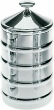 More details for alessi kalisto 3 kitchen box / jar in 18/10 stainless steel